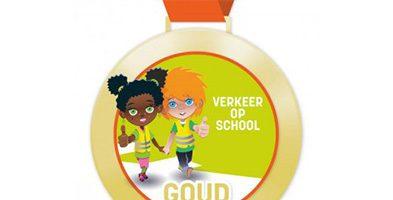 Gouden medaille 'Verkeer op School'